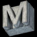 Concrete Block Font