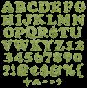 Cooper Leaf green Font