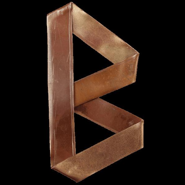 Copper Origami Font