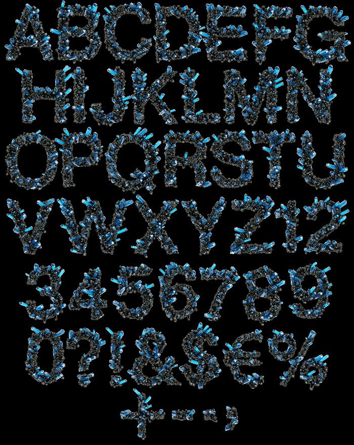 Crystal Field night Font