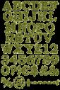 Daisy green Font