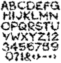 Deepblack halloween Font