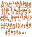 Devil hot Font