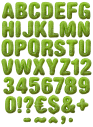 Dragon Skin green Font