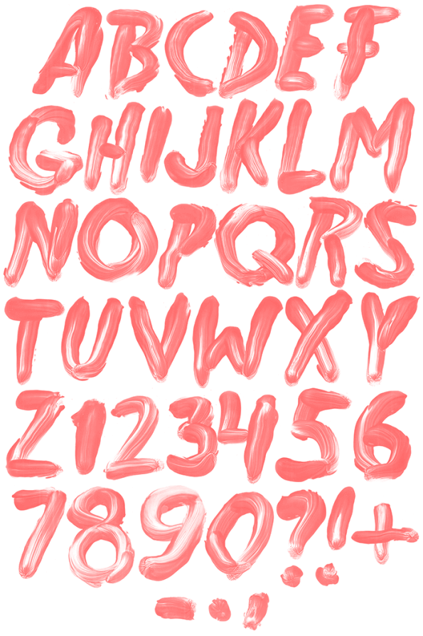 Freddy handmade Font