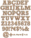 Gingerbread Colors funny Font