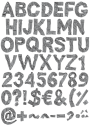 Gray Plaster package Font