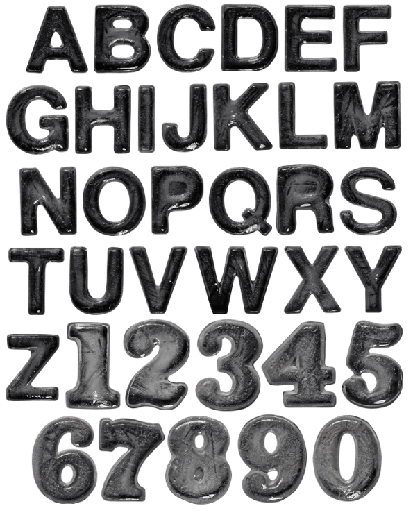 Ice Big Black dark Font