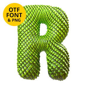 Dragon Skin Font Dragon Opentype Typeface Made By Handmade Font