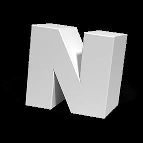 Melt White Font