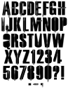 Molnia black Font