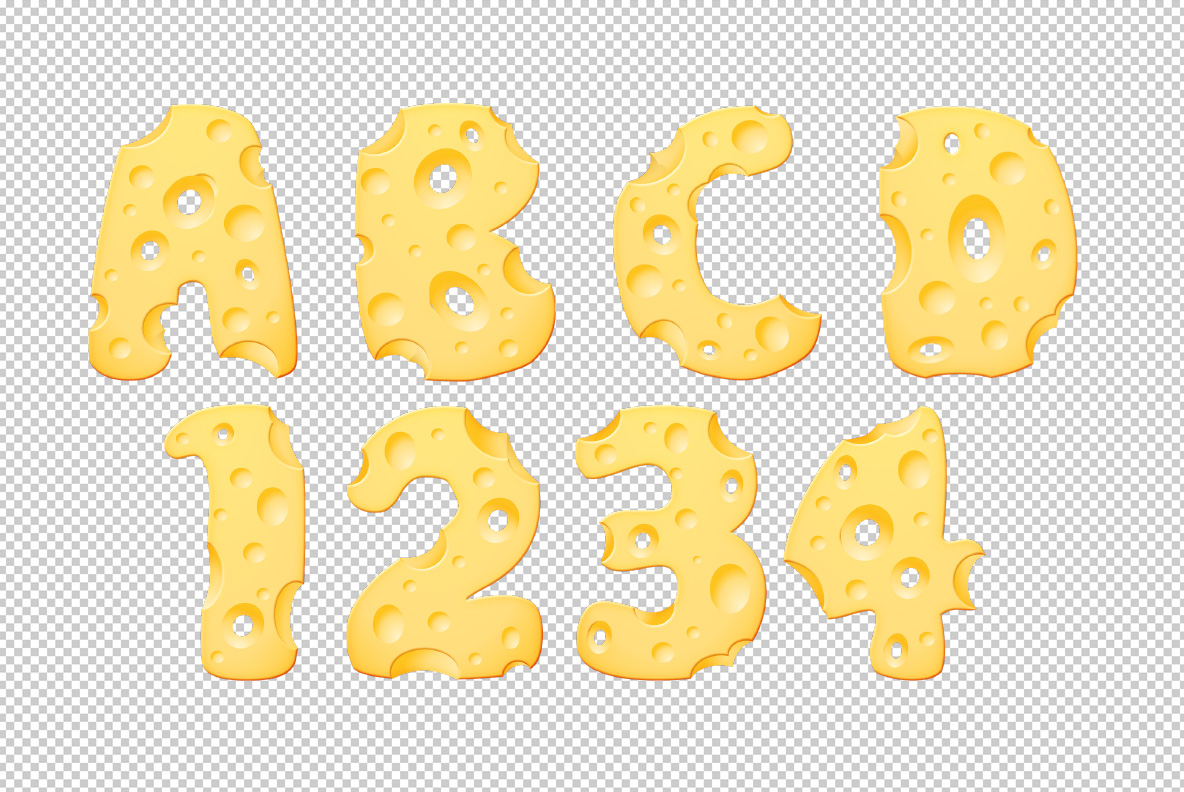 Photoshop test with Moon Cheese Font OpenType Typeface Made By Handmade Font