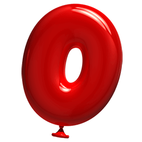 Red Balloons Font