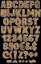 Rusty Metal iron Font