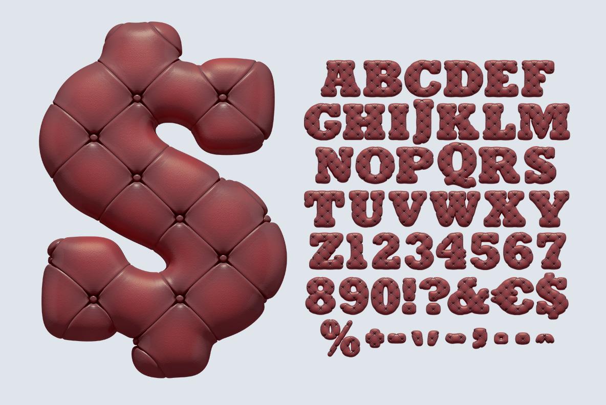 Scotland Yard Font OpenType Typeface SVG. Sofa handmade font alphabet