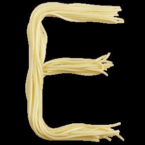 Spaghetti Font