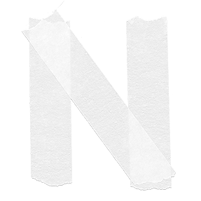 Tape White Font