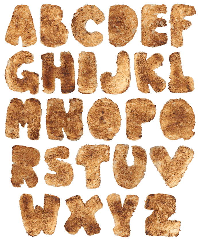 Toaster bread Font