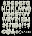 Waxflow white Font