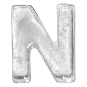 Ice Big White Font