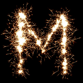 Holiday Firework Typeface