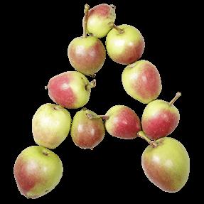 Organic Apple Font