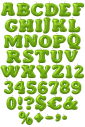 Apple Green food Font