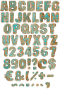 Brass old font