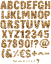 Cracker eating font