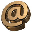 Golden Extrude Font