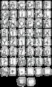 Ice Cube bar Font