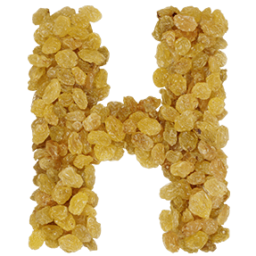 Raisins font