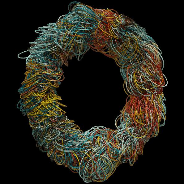 Color Wire font