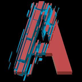 Color Slice font