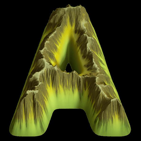 Island font
