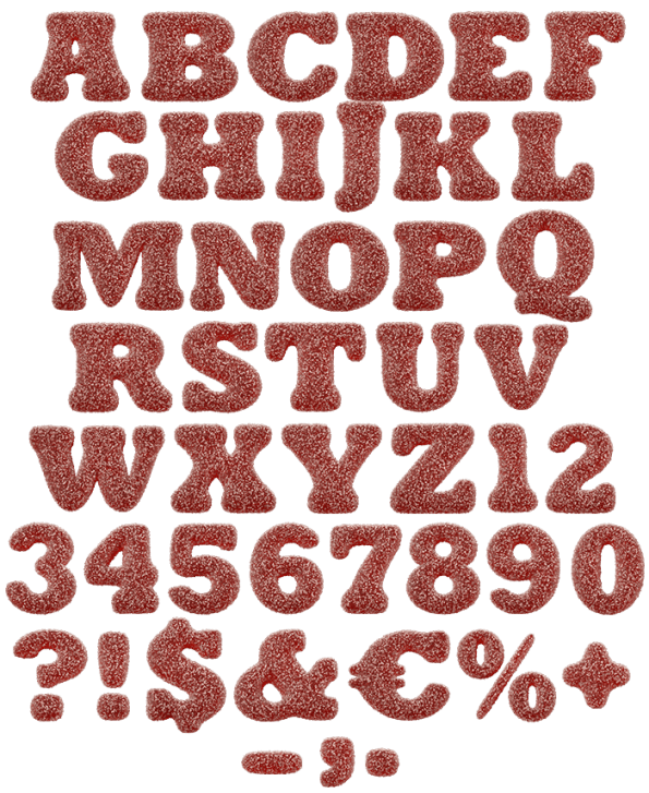 Sugar Candy funny font
