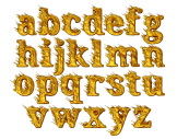 Golden Wind awesome font