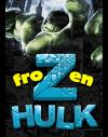 Hulk Icecrack handmade Font