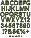 Soldier hand font