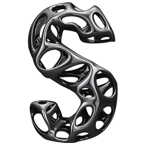 Black Net Font