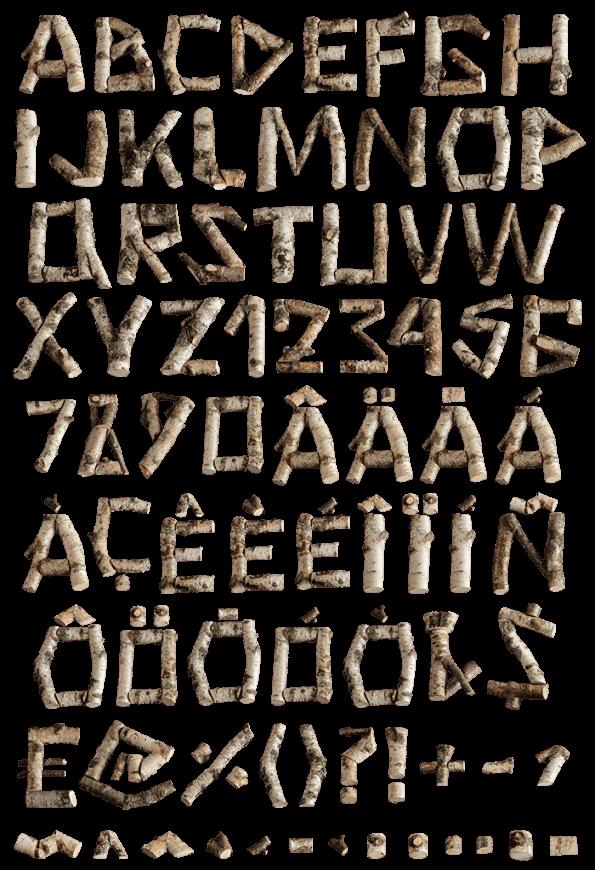 Russian Soul Font letters