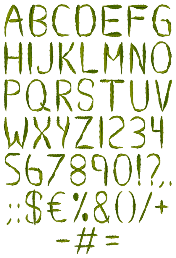16 Free Cactus fonts (Page 2) - FontSpace