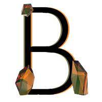 Crystal Diamond Font