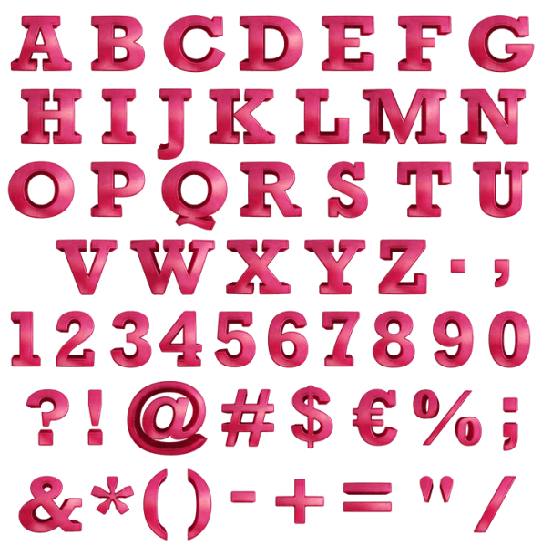 Red Jelly Font