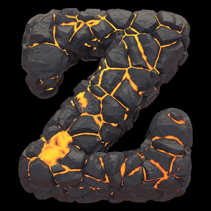 Burn Hot Lava Font