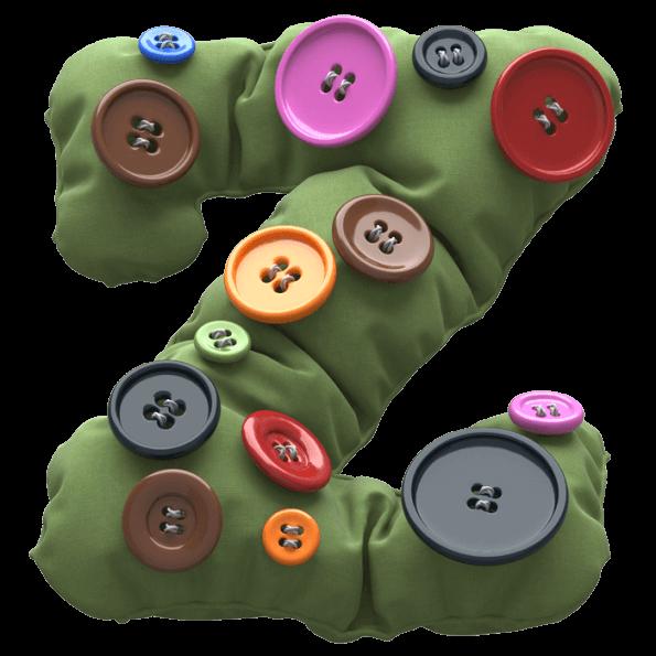 Button Khaki Font