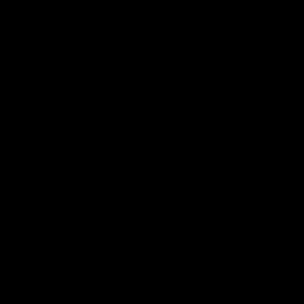 Black 3D Chalk Font Letter N