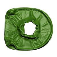 Green Blowup Font Letter D