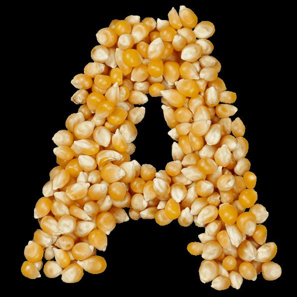 Food Corn Font
