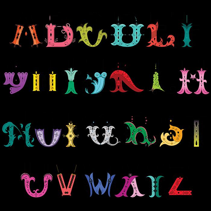 Unique Fancy Fashion Font